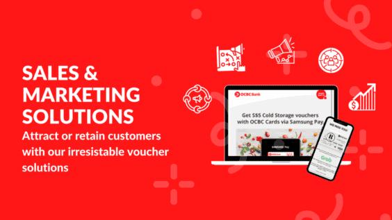 eVouchers for Sales & Marketing Teams